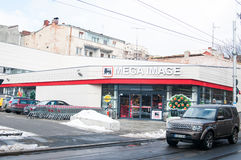 Mega- Bild armeneasca Speicher Stockfotos