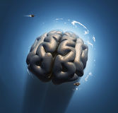 Mega brain Stock Image