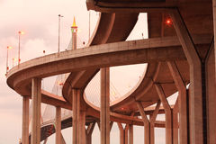Mega Bridge of Thailand Stock Photo