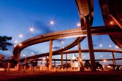 Mega brug Thailand Stock Afbeeldingen