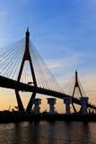 Mega brug Thailand Stock Foto's