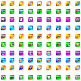 Buttons and icons 26.03.13 Royalty Free Stock Photography