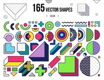 Mega collection with design elements vector illustration