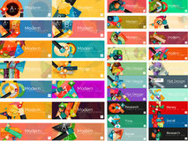 Mega collection of flat web infographic concepts Stock Photos