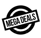 Mega Deals rubber stamp Royalty Free Stock Photos