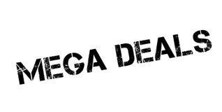 Mega Deals rubber stamp Stock Photos