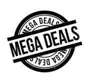 Mega Deals rubber stamp Stock Image