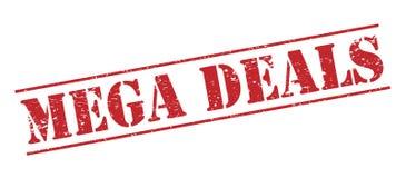 Mega deals  stamp Stock Photos