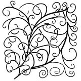 Mega Doodle Design Elements Vector 1 Royalty Free Stock Photos