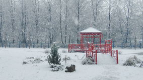 Mega extra big global snowfall loop china japan stock video footage