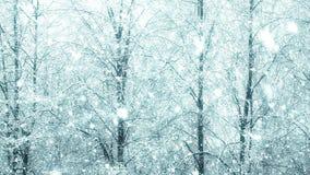Mega extra stor global vinter för snöfallöglasträd