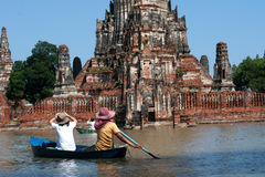 Mega floods in Thailand. Royalty Free Stock Photography