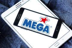 Mega gatunków wytwórcy zabawkarski logo Zdjęcie Stock