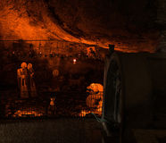 Mega(Great) Spilaion (Cave) Monastery cave Stock Image
