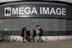 Mega image supermarket Royalty Free Stock Photography