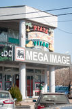 Mega image at the Vitan market Royalty Free Stock Photos