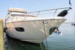 mega jacht zdjęcie royalty free