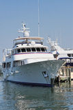 mega jacht zdjęcie stock