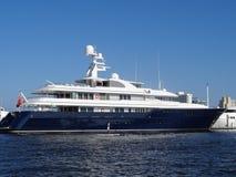 Mega jachtu fort lauderdale Obrazy Royalty Free