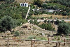 Mega Kretan nöjesfält Royaltyfri Bild