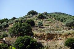 Mega Kretan nöjesfält Arkivfoton