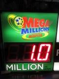 Mega- Millionen-Auszahlung lizenzfreies stockbild