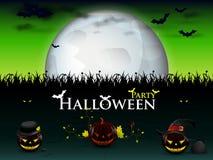 Mega patry halloween stock illustrationer