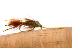 Mega Prince Nymph Fly Fishing Royalty Free Stock Images
