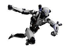 Free Mega Robot Super Drone In A White Background Stock Photo - 138121450