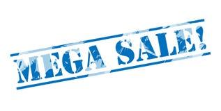 Mega sale blue stamp Stock Photos