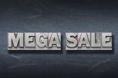 Mega sale den Royalty Free Stock Photo