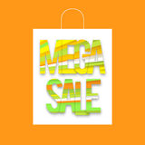 Mega sale package Stock Images