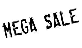 Mega Sale rubber stamp Royalty Free Stock Photos