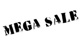 Mega Sale rubber stamp Stock Photos