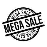 Mega Sale rubber stamp Royalty Free Stock Photography
