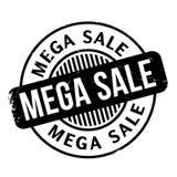 Mega Sale rubber stamp Stock Image