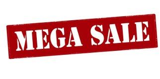Mega sale Royalty Free Stock Photography