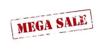 Mega sale Royalty Free Stock Photos