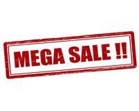 Mega sale Stock Photography