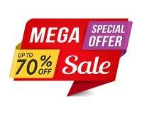 Mega Sale Royalty Free Stock Image