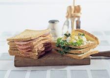 Mega Sandwiches Royalty Free Stock Photo