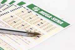 Mega-Sena - Brazilian lottery Royalty Free Stock Photo