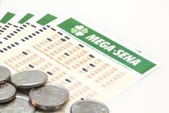 Mega-Sena - Brazilian lottery Stock Image