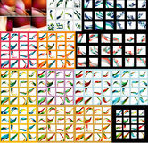 Mega set of abstract backgrounds Vector Illustration