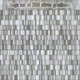 Mega set consisting of collection 256 silver gradients. Metallic texture. Shiny background. EPS 10 royalty free illustration