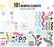 Mega set of design elements Royalty Free Stock Image