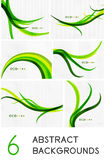 Mega set of spring abstract backgrounds Royalty Free Stock Photo