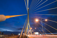 Mega sling Bridge,Rama 8, Royalty Free Stock Image