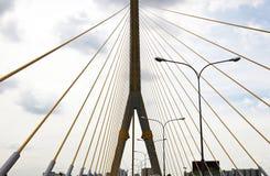Mega sling Bridge,Rama 8 Stock Photography