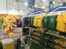 Mega- Speicher Rio 2016 Lizenzfreie Stockfotografie